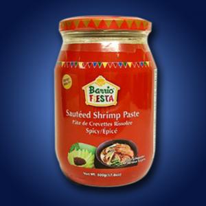 Barrio Fiesta Sauteed Shrimp Paste Spcy 12 x 500g