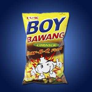 Boy Bawang Corn Snack BBQ 40 x 100g
